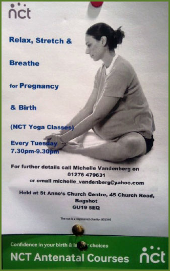 NCT yoga classes near ascot