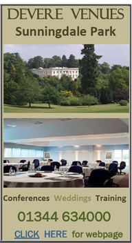 DeVere Sunningdale Park weddings ascot