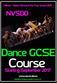 NVSDD Dance GCSE 2017
