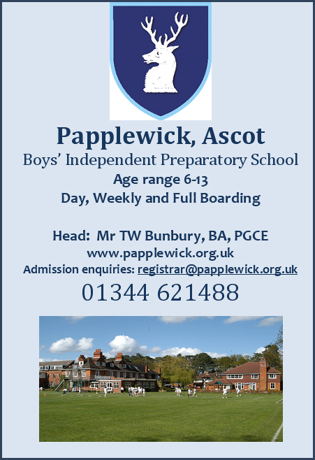 papplewick day and boarding prep school in ascot