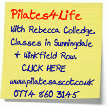 Pilates Ascot with in winkfield and sunningdale