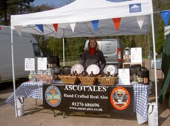 Ascot Ales, Ascot Farmers Market