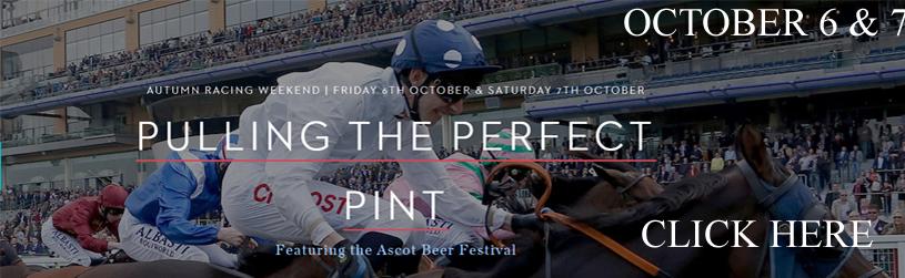 Ascot Races|  Racing & Beer Festival 2017