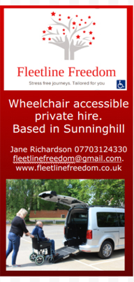 Fleetline Freedom  Ascot | Wheelchair Private Hire Taxi