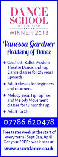 Vanessa Gardner Academy of Dance Ascot | Dance | Ballet | Tap