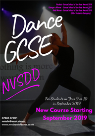 NVSDD School of Dance | Dance GCSE 2019