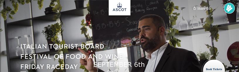 Ascot Racecourse | Italian Food Festival