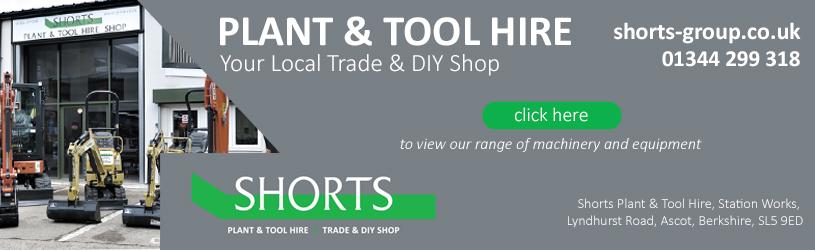 Shorts of Ascot Tool & Plant Hire