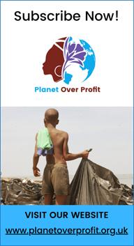 Planet Over Profit | POP | African Environmentalist Platform