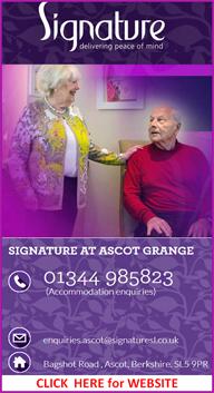 The Grange,  new signature care home in Ascot