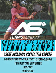 AS Tennis Academy Ascot 2020