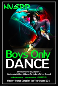 NVSDD School of Dance | Boys Only