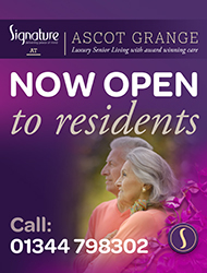 The grange,  new signature care home in Ascot