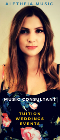 Music Consultant | Tuition | Weddings | Events | Ascot | Sunningdale
