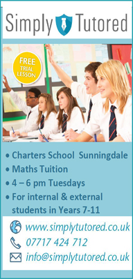 Simply Tutored |  Maths  tuition at Charters School
