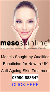 Mesoskinline | Models Sought for Non Invasive Beauty Treatment