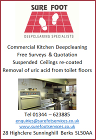 Surefoot Commercial Kitchen deep Cleaning