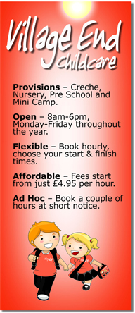 Village End | After School | Daycare | Holiday Club Childcare Ascot