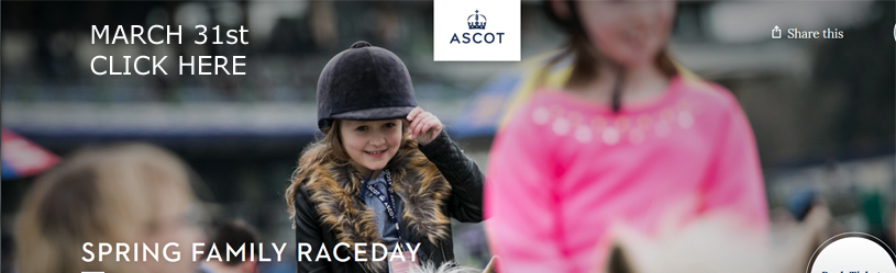 Ascot Racecourse  Spring Family Raceday
