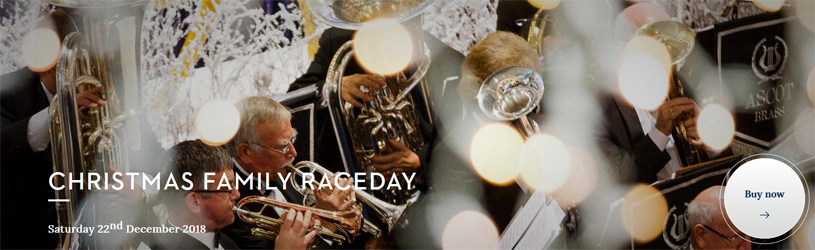 Ascot Racecourse Christmas Family Raceday