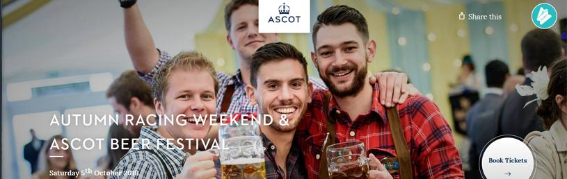 Ascot Racecourse | Beer Festival