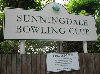 Sunningdale Bowling Club event