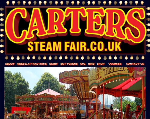 Carters Steam Fair Englefield Green September 28th 29th