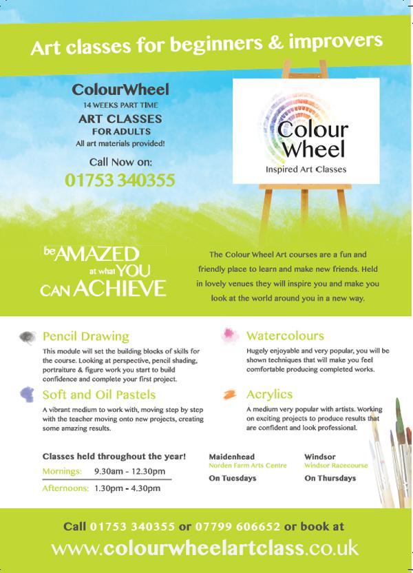 Adults Art Classes Colour Wheel