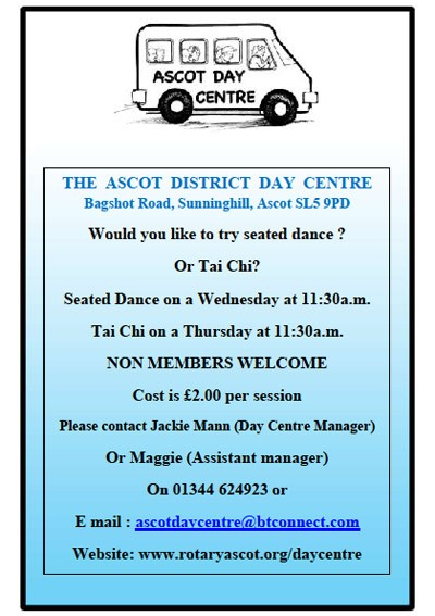 Ascot Day Centre :: activities