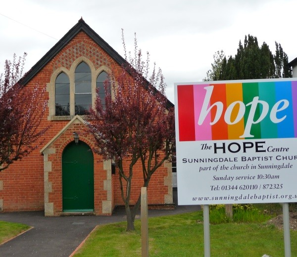 Sunningdale Baptist Church :: The Hope Centre