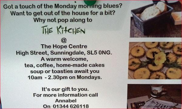 Sunningdale :: Hope Kitchen