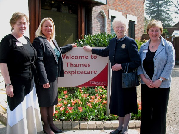 Thames Hospicecare :: Patron Lady Stevenson