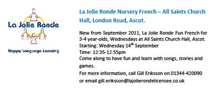 La Jolie Ronde : nurery french lessons