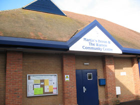 Martins HerRoyal British Legion Hall, near Ascoton and Warren Community Centre, Near Ascot