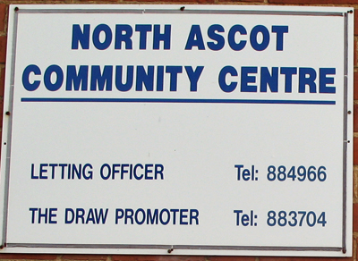 north ascot community centre