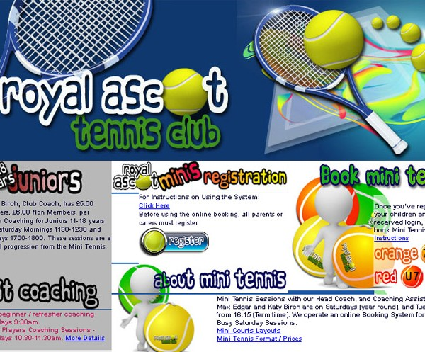 Royal Ascot Tennis Club   ::  Saturday tennis coaching