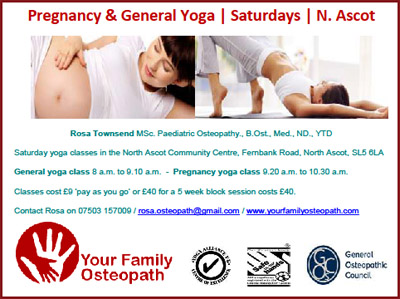 North Ascot Community Centre  : Pregnancy yoga