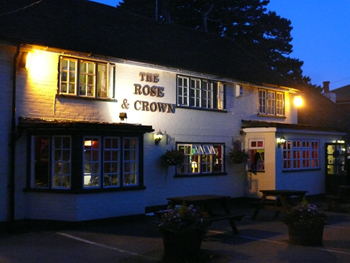 Christmas menus  : The Rose & Crown Woodsidel