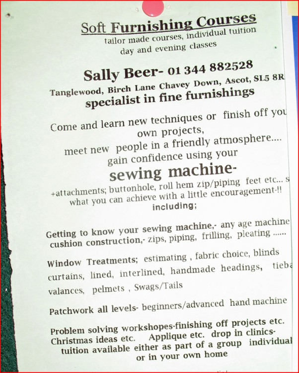 sallybeer :: sewing