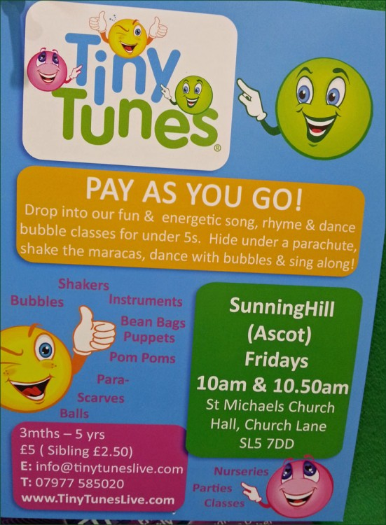 Tiny Tunes :: St.Michaels Church Hall