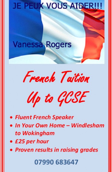 French Tuition to GCSE : Sunninghill Ascot